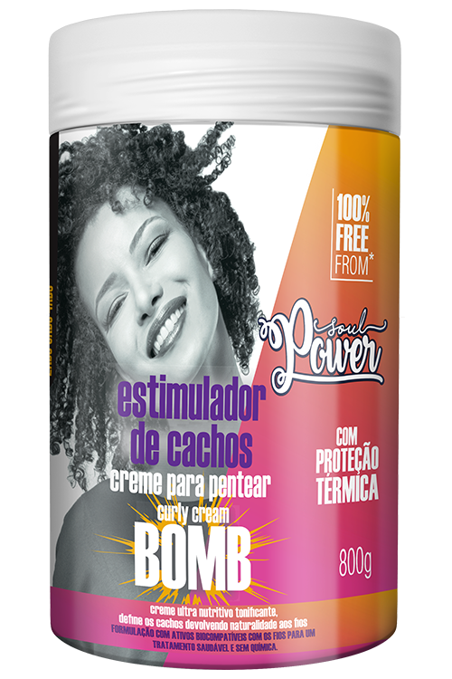 CURLY CREAM BOMB POTÃO