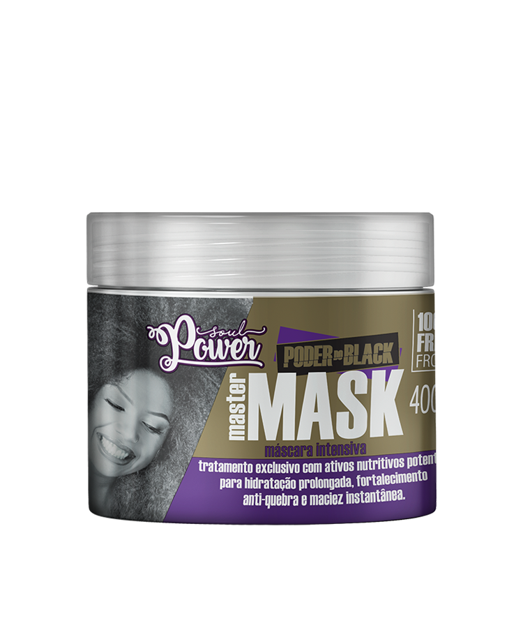 PODER DO BLACK MÁSCARA MASTER MASK