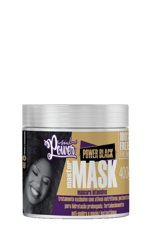 Power Black Master Mask