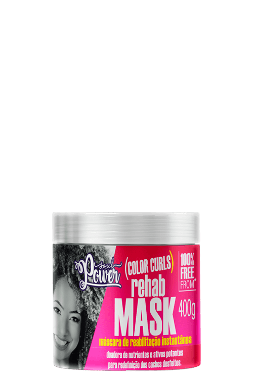 Color Curls Rehab Mask 400g